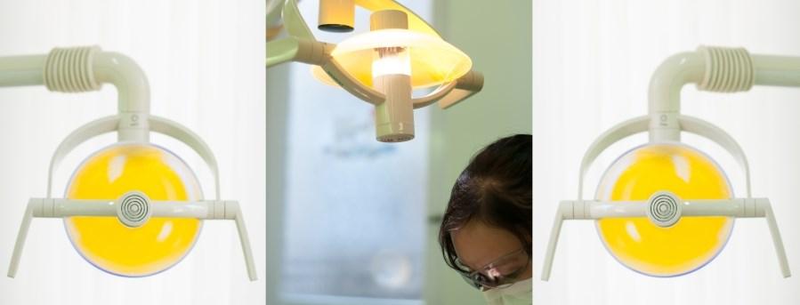 Lampe-Behandlungsstuhl